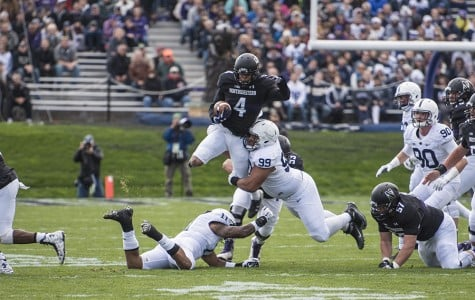 Football: Fitzgerald announces position changes, injuries for Northwestern's spring practices