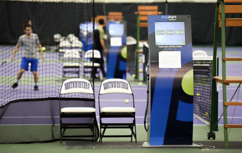 New PlaySight system a hit for Northwestern tennis programs
