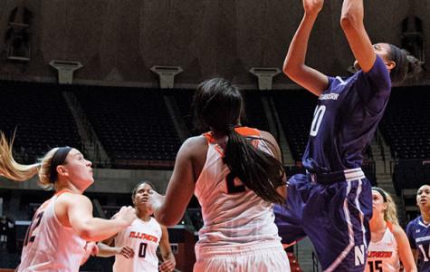 Women's Basketball: Coffey dominates in Northwestern's win over Illinois
