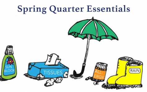 The Drawing Board: Spring Quarter Essentials