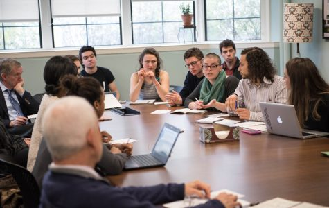 Schapiro, students discuss structure of socially responsible investment committee