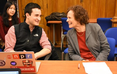 Students discuss Karl Eikenberry's qualifications, worldview in Political Union debate
