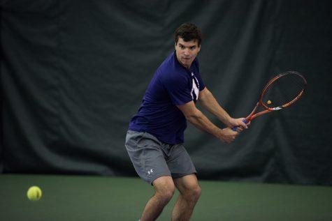 Men's Tennis: Northwestern falls in semifinals of Big Ten tournament