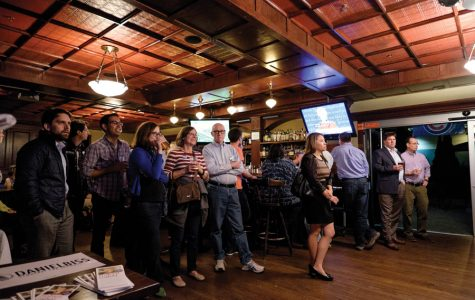 Democratic state reps host first presidential debate viewing at Nevin's Pub