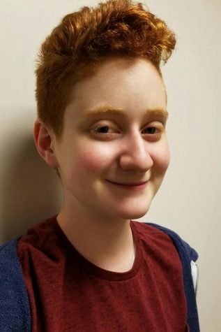 Recent ETHS graduate Rena Newman, who identifies as genderqueer, says they felt uncomfortable using a third, separate locker room to change for gym classes. ETHS administrators have struggled to come up with a policy addressing transgender students' use of locker rooms and bathrooms.