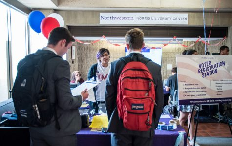 Northwestern registers record-setting percentage of freshmen to vote