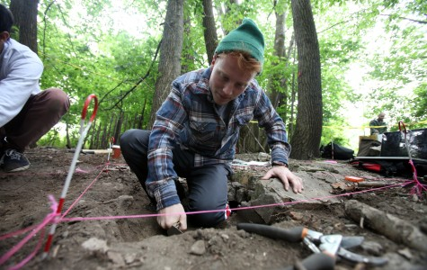 NU archaeology class digs into student life
