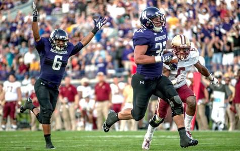 Football: Northwestern beats Boston College 22-13