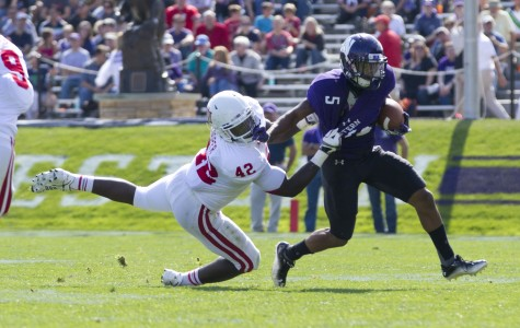 Football: Northwestern clocks record day to hold on against Indiana