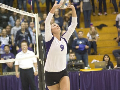Volleyball: Wildcats split trip to Hoosier State