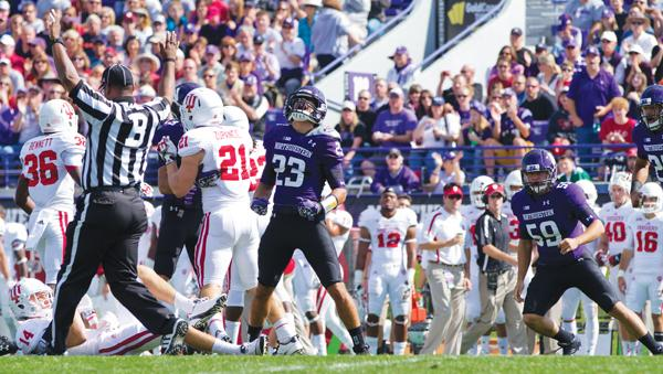 "Cornerback Nick VanHoose and the Wildcats are using the bye to heal and ""win this week academically."" VanHoose is nursing a shoulder injury that kept him out of the Iowa contest."