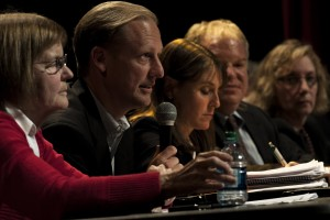 State-level candidates debate in Evanston forum