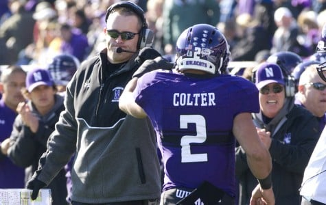 Northwestern runs past Iowa in first half