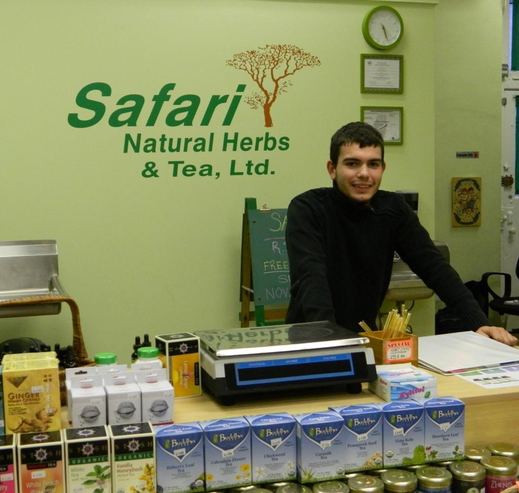 Joseph+Vlad%2C+the+owner+of+Evanston%27s+new+Safari+Natural+Herbs+and+Tea%2C+is+20+years+old.+He+said+that+age+provided+several+obstacles+to+starting+a+business%2C+but+that+%22you+can%27t+judge+a+book+by+its+cover.%22