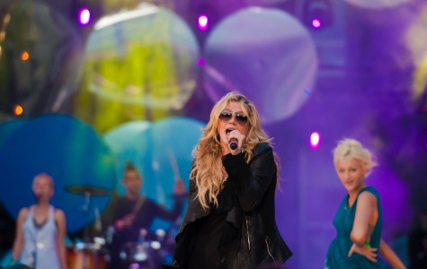 Kesha feels pressure to act a certain way in Hollywood, but she doesn't let that stop her.