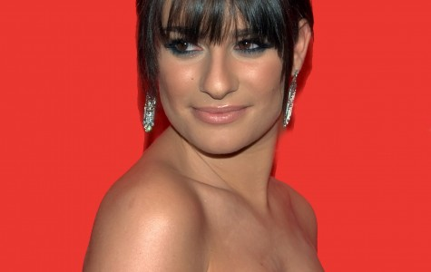 """Glee"" star Lea Michele reacts to online rumors."