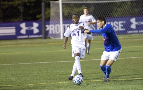Junior Lepe Seetane scored his first goal of the season last week against Notre Dame.