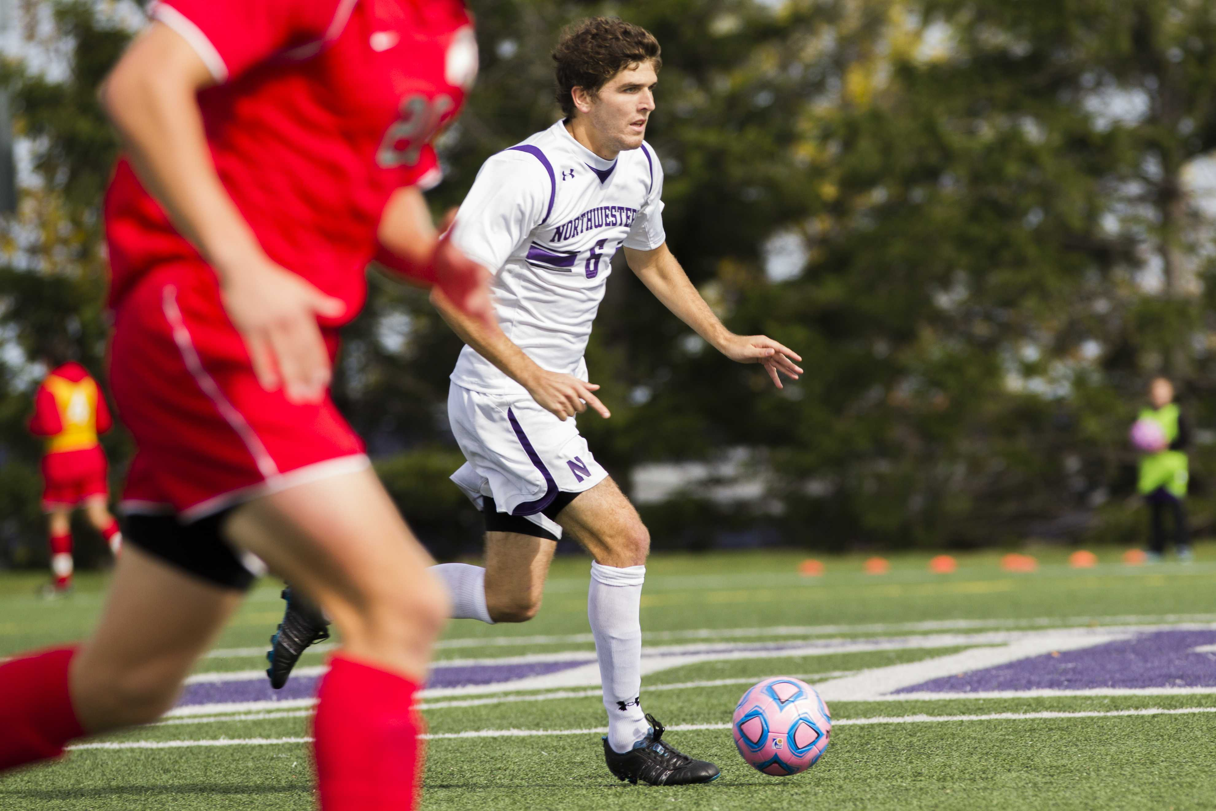 Northwestern midfielder Chris Ritter and the Wildcats can still win the Big Ten Championship despite dropping their last two games. NU fell in extra time to Penn State and Northern Illinois.