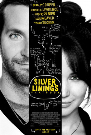 """Silver Linings Playbook,"" starring Bradley Cooper and Jennifer Lawrence, doesn't exactly fit into any one genre of film."