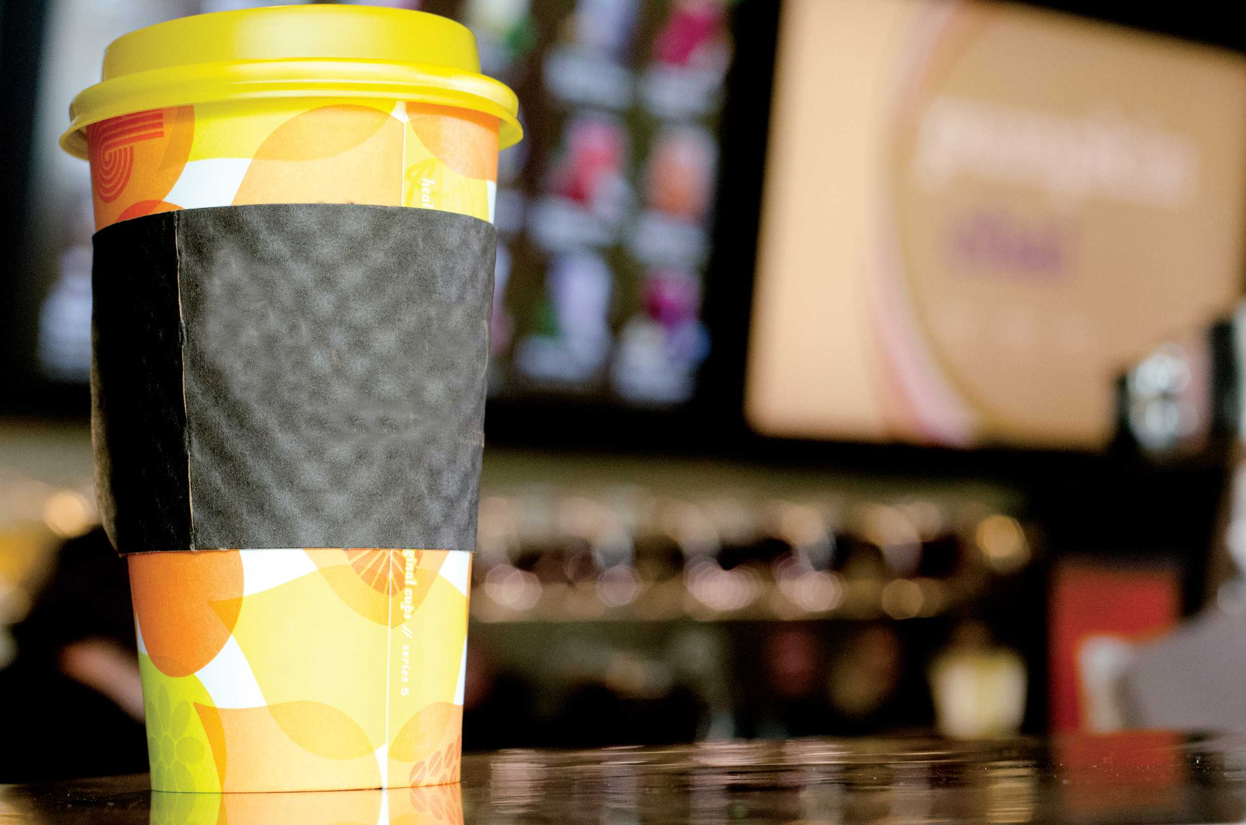 Seasonal coffee drinks can make cold weather more manageable. Many cafes offer a version of the pumpkin spice latte or caramel-flavored drinks.