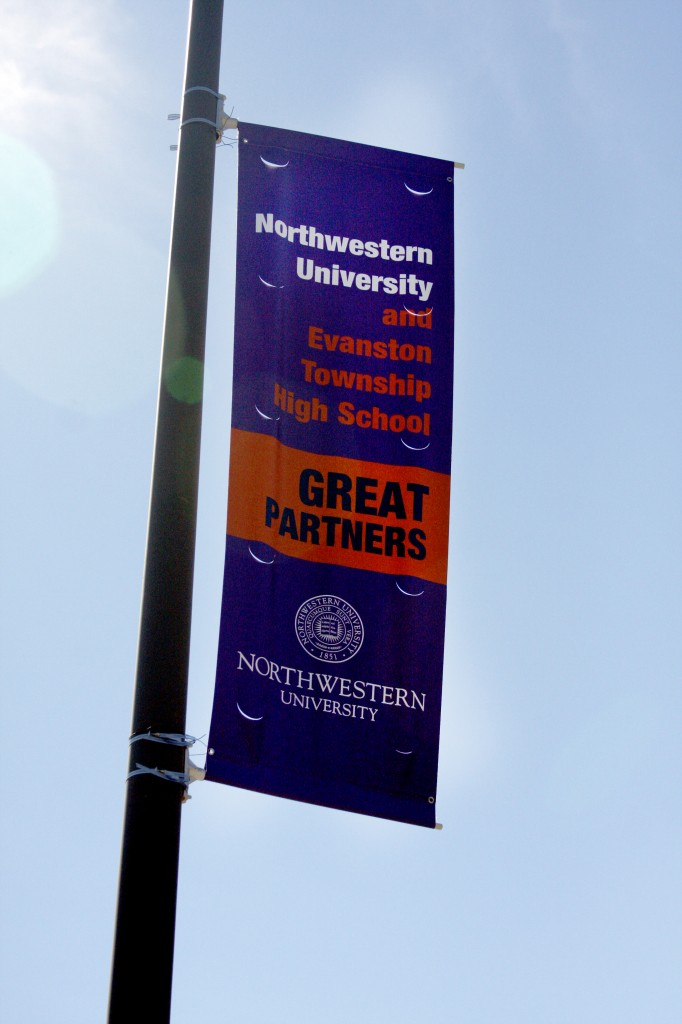 University+President+Morton+Schapiro%27s+Good+Neighbor%2C+Great+University+program+is+funding+a+new+staff+position+at+Evanston+Township+High+School+to+form+connections+between+the+two+schools.