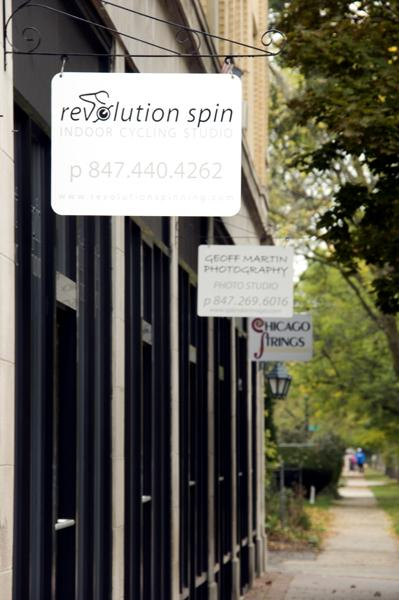 Revolution Spin is an indoor cycling studio located at 904 Sherman Ave. in Evanston. An Evanston resident filed a petition with the city to revoke the business license of the studio.