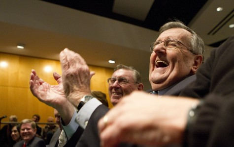 PBS' Mark Shields discusses 'interesting election' in 2012 Minow Lecture