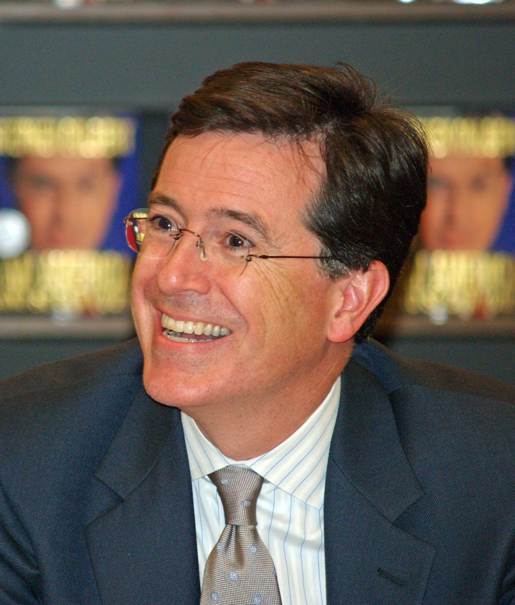 "Stephen Colbert (Communication '86) will replace David Letterman as the host of ""Late Night"" following Letterman's retirement later this year."