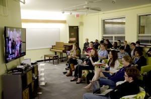 CRC hosts third watch party as Obama, Romney spar