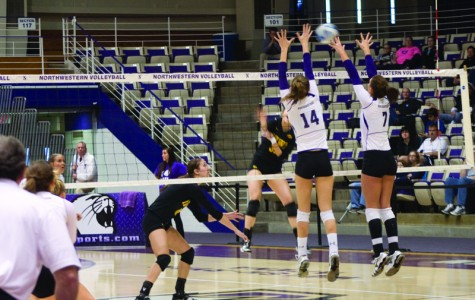 Volleyball: Wildcats pick up critical win in weekend split
