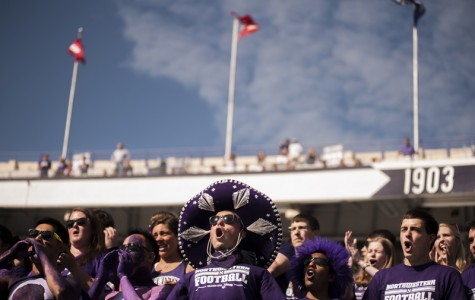 Packed house: Northwestern's on-field success fills seats
