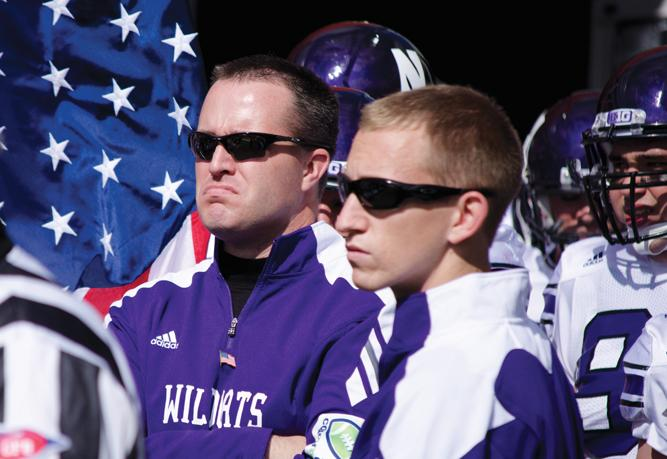 Northwestern+coach+Pat+Fitzgerald+is+the+youngest+coach+in+the+Big+Ten%2C+but+he+is+also+the+conference%E2%80%99s+second-longest+tenured+coach.+