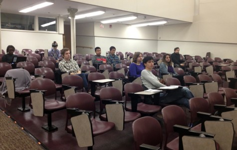 Peace Project sees low turnout for panel about voting, election issues