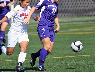 Women's Soccer: Northwestern swept by Indiana schools
