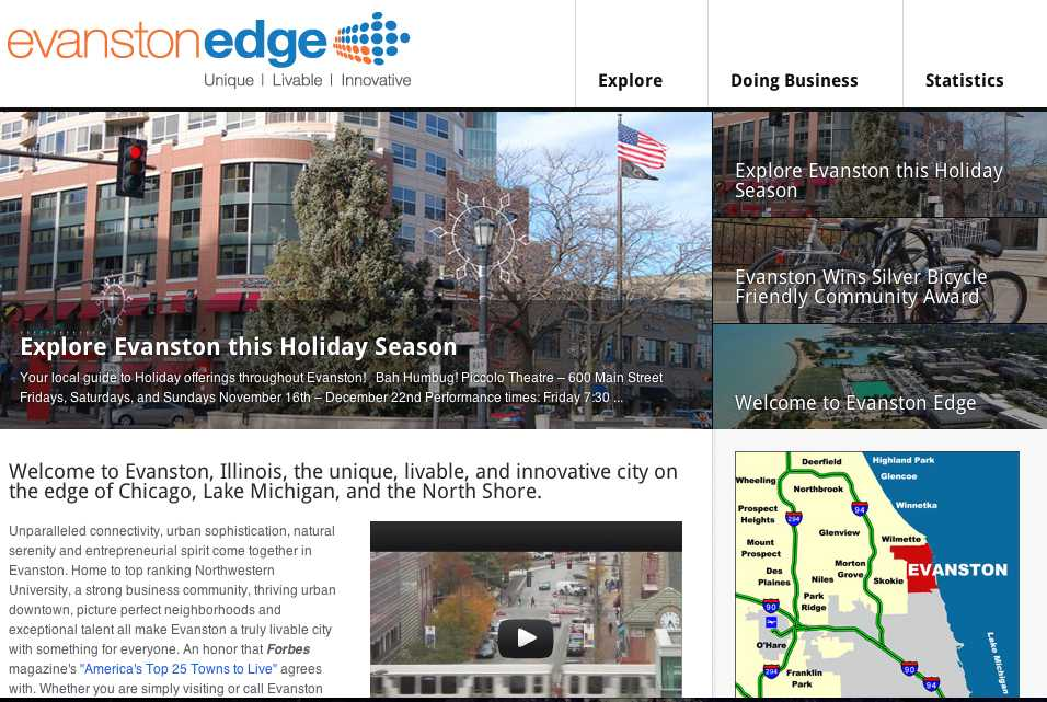 Evanston+Edge+is+a+new+website+that+showcases+local+businesses.+City+officials+hope+the+website+will+encourage+residents+to+start+their+own+enterprises.+