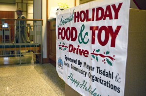 Holiday drive proceeds last nonprofits throughout the year
