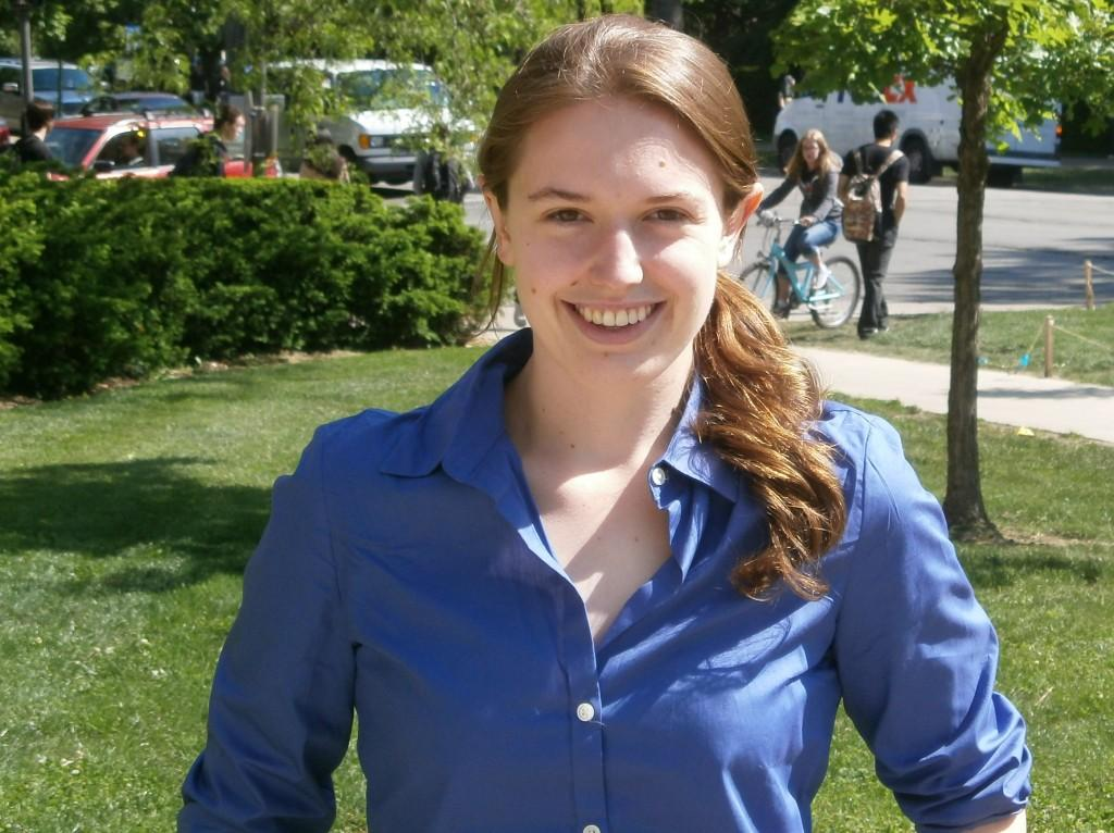 Weinberg+senior+Jennifer+Mills+was+named+a+Marshall+Scholar+on+Thursday.+She+is+a+triple+science+major+at+Northwestern.