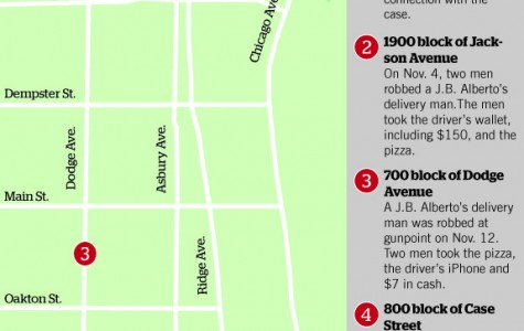 Evanston pizza drivers targeted for money, deliveries