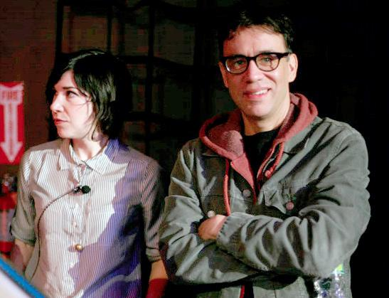 """Portlandia,"" starring Carrie Brownstein and Fred Armisen, airs its third season January 2013. Welcome the new year with feminist bookstores and aggressive bicyclists."