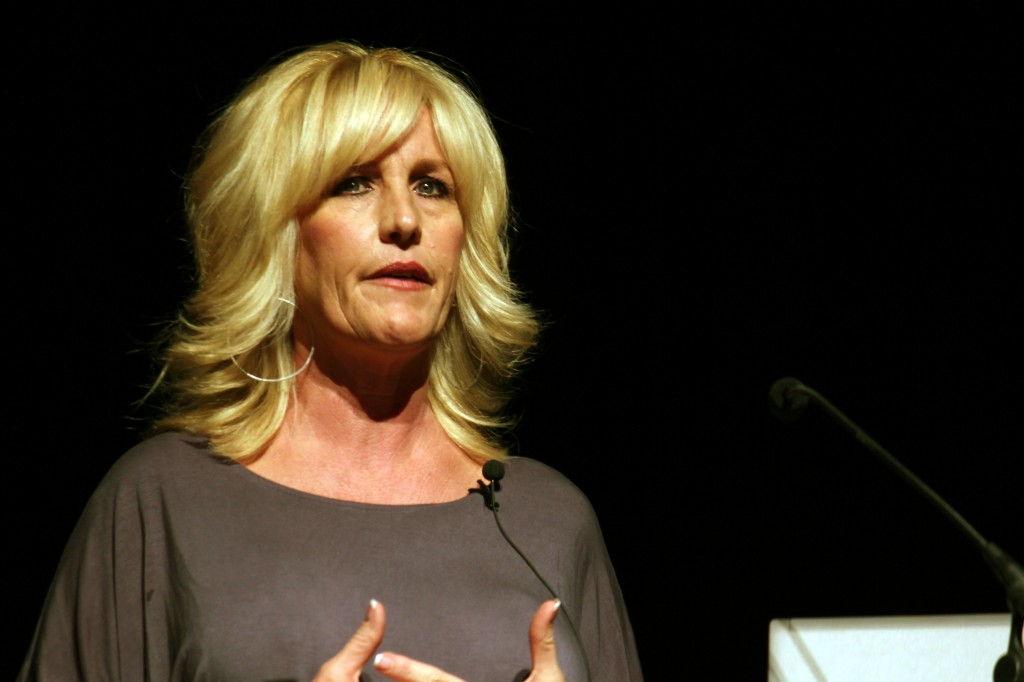Erin Brockovich, environmental activist and lawyer, presents her current projects, including an upcoming partnership with Google and a new documentary about water. Presented by SEED, the talk focused largely on environmental and health issues.