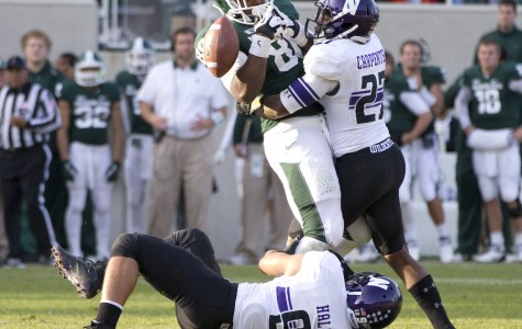 Football: Tillman inspires strong performance from Northwestern secondary against Michigan State