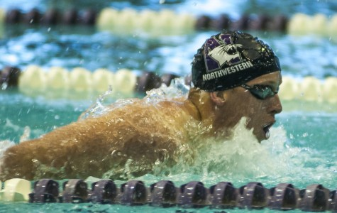 Men's Swimming: Northwestern edges Western Kentucky, gets outdone by Purdue
