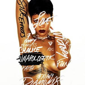 """Unapologetic,"" Rihanna's new album, comes out Tuesday."