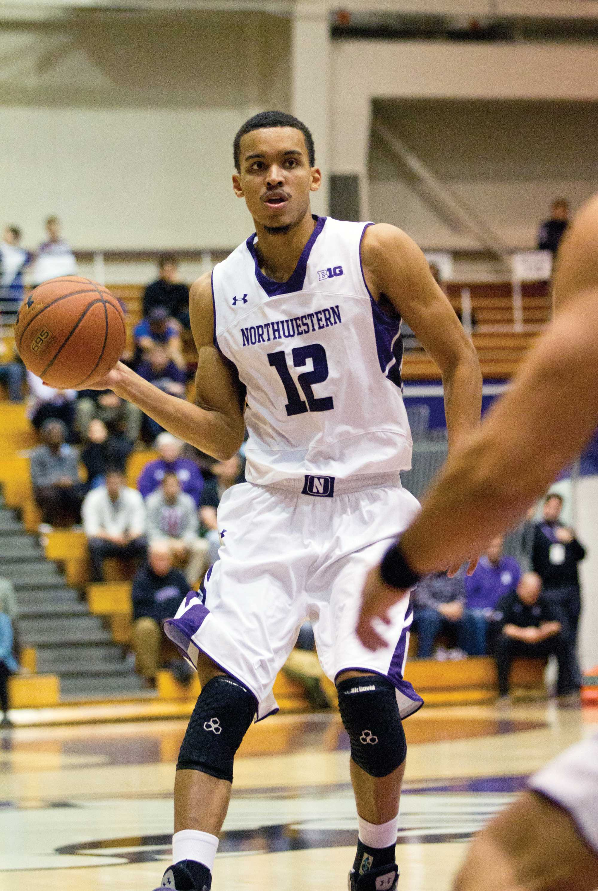 Northwestern forward Jared Swopshire scored 22 points and chipped in 6 rebounds in the Wildcats' win over the Delta Devils on Thursday. Swopshire transferred from Louisville in the offseason and figures to play major minutes for NU this season.
