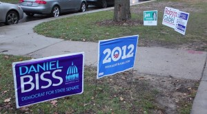 Video: Election Day on campus