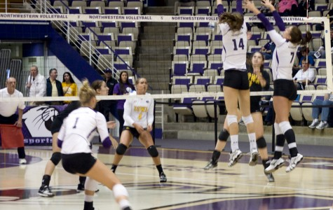 Volleyball: Indiana, Purdue sweep Northwestern