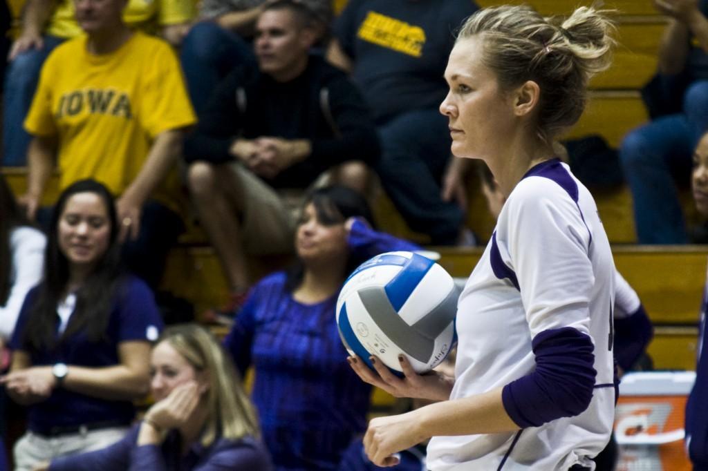 Setter+Madalyn+Shalter+was+a+key+cog+in+Northwestern%E2%80%99s+defeat+of+Michigan.+The+senior+recorded+46+assists+and+17+digs+as+the+Wildcats+won+3-1.