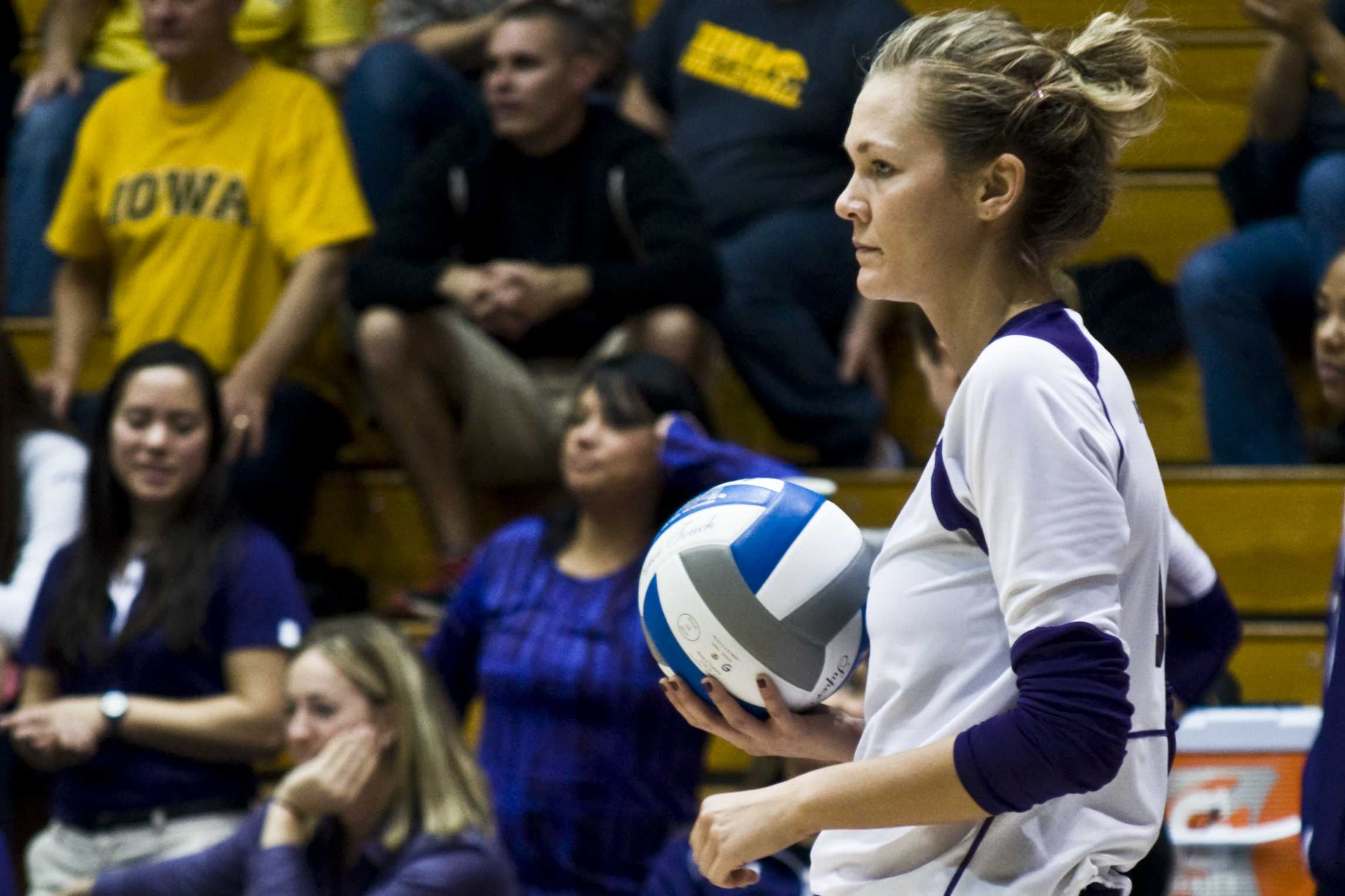 Setter Madalyn Shalter was a key cog in Northwestern's defeat of Michigan. The senior recorded 46 assists and 17 digs as the Wildcats won 3-1.