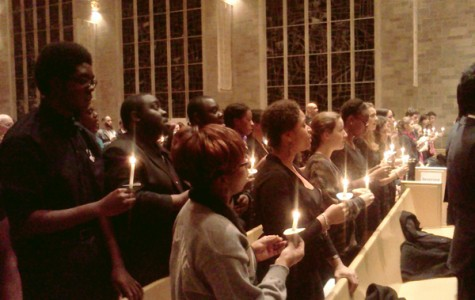 Candlelight vigil caps Northwestern's MLK Day celebration