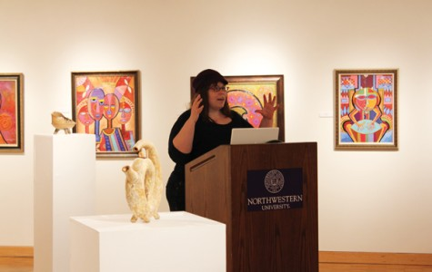 Addressing mental health during her speech at Dittmar Gallery on Tuesday night, Jennifer Peepas — known by her blogger pseudonym